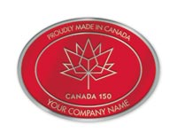 Canada 150 years Seal -Customized