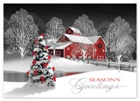 Merriest of Nights Holiday Cards