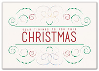 Light Bright Christmas Holiday Cards