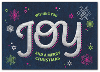 Holiday Cards, All Around Joy Christmas Cards