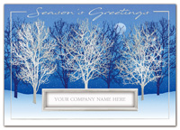 Silver Moon Holiday Cards