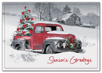 Holiday Cards, Big Red Holiday Cards