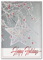 Seamless Sparkle Holiday Cards