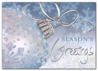 Holiday Cards, Blue Jewelled Holiday Cards