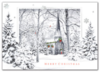 Holiday Cards, A Closer Look Christmas Cards