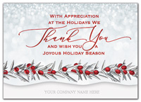 Holiday Cards, Full of Thanks Holiday Cards