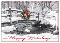 All Natural Holiday Cards-H09650