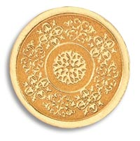 Seals, Gold Medallion, Embossed Foil Seals