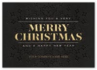 Holiday Cards, Merrily Modern Christmas Cards