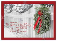 Garden Gate Holiday Cards