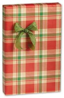 Gift Wrap, Christmas Plaid Gift Wrap, 24