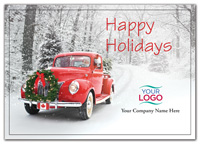 Rolling Home Holiday Logo Cards