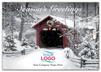 Scenic Silence Holiday Logo Cards