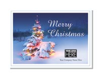 Oh, Christmas Tree Logo Cards