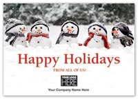 Holiday Cards, Frosty Group