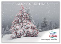 Winter Wanderings Holiday Logo Card