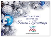 Tinsel Tidings Holiday Logo Cards