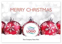 Delightful Christmas Logo Cards