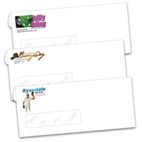 Business Envelopes, Envelopes - #10 Window - Custom Printing