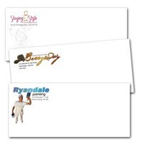 Business Envelopes, Envelopes - #10 - Custom Colour Printing