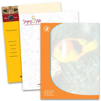 Letterhead - Custom Colour Printing
