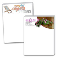 Notes & Note pads, Personalized Memo Pads - Custom Colour Printing