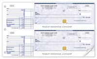 Security 2-To-A-Page Cheques-SS437