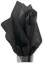 Solid Tissue Paper, Black, 20 x 30