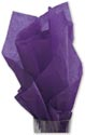 Solid Tissue Paper, Purple, 20 x 30