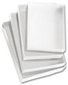 "Clear Top Boxes w/ White Base, 6 9/16 x 4 13/16 x 1"" - 5100604"