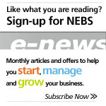 Like what you are reading? Sign-up for NEBS monthly enews today!