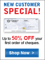50% your first order of supreme security cheques!